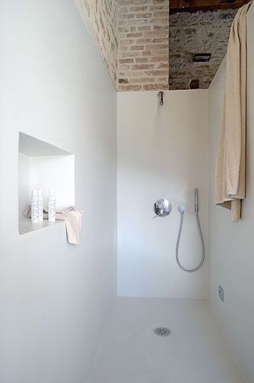 Badkamer Wall wandafwerking