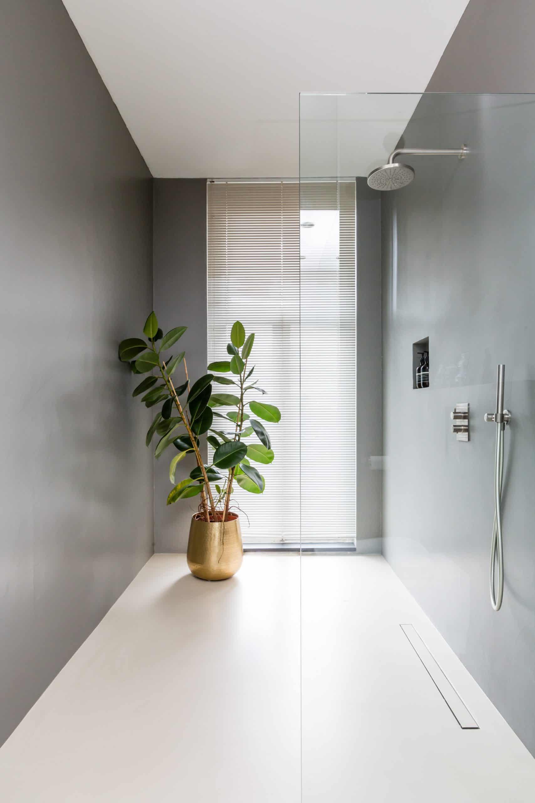 Wallastic wandafwerking badkamer