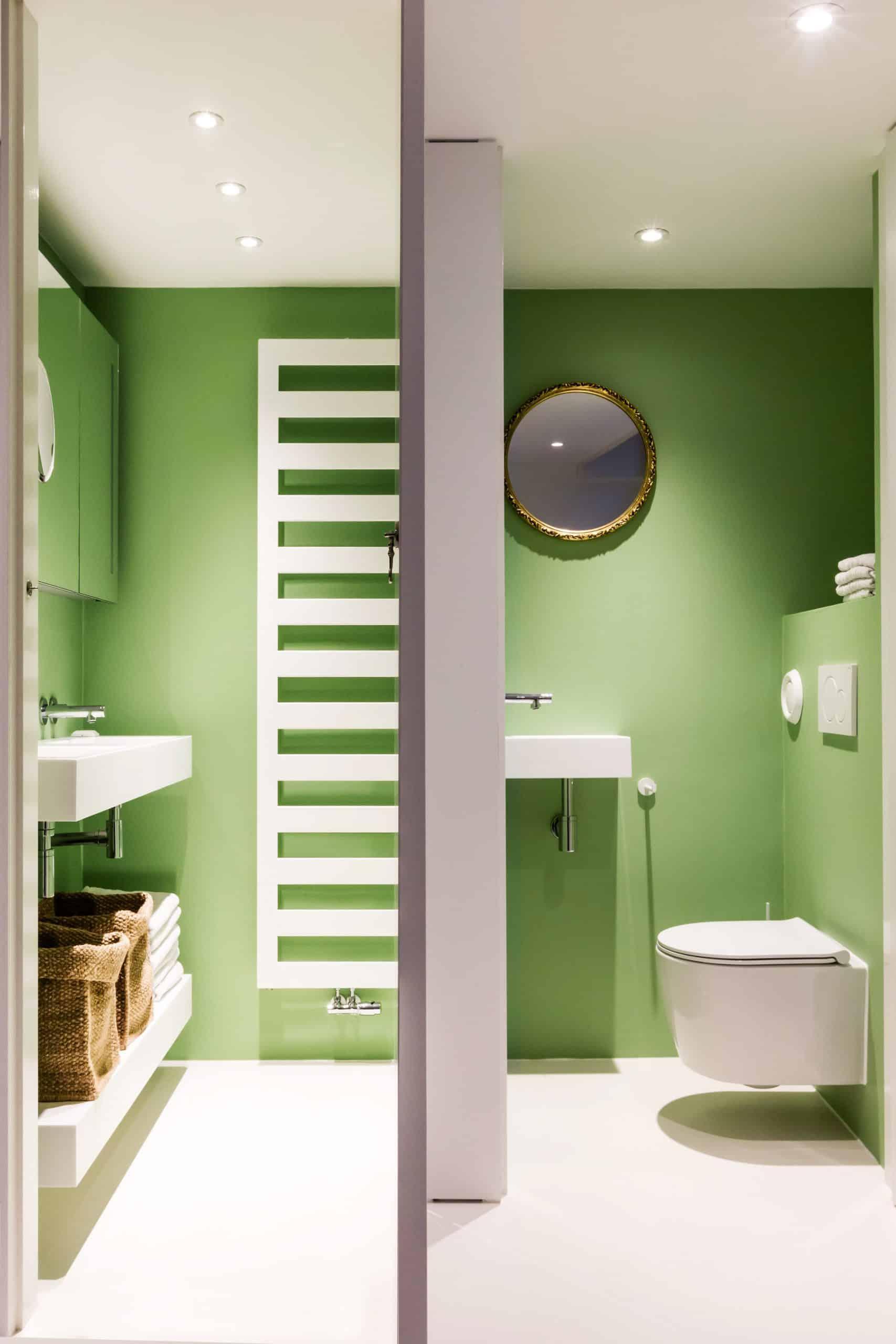 Wallastic wandafwerking groen